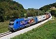Foto zeigt: LTE und Adria-Transport auf der slowenischen Südbahn