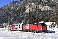 Foto zeigt: Buntes im Oberkärntner Schnee