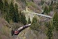 Foto zeigt: Tele von 1016.028 mit LGAG bei Abzw. Bad Hofgastein - Hundsdorfer Viadukt (Tauernbahn), 27.04.2021