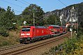 Foto zeigt: DB 146.226, SB 31717 (S1), Kurort Rathen (Sächsische Schweiz), 21.09.2020