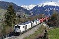 Foto zeigt: SIEAG 248-Doppel vor 1216.006, bei Angertal (Tauernbahn)