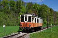 Foto zeigt: Abschiedsfahrt von Stern & Hafferl ET 24.103 auf der Vorchdorferbahn