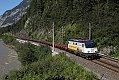 Foto zeigt: STB 1142.578 mit Leer-Ganzzug zwischen Golling und Tenneck (Giselabahn 2020)