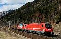Foto zeigt: SŽ 541 103 + SŽ 541 013, 48699, Sbl. Kolbnitz 1 (Tauernbahn), 18.03.2020