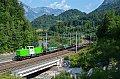 am Foto: SETG V100.54, Bedienfahrt kurz vor Werfen (Giselabahn), 23.07.2021