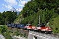 Foto zeigt: 1163.010 + 1163.011, KGAG 59333, Pöham (Fritzbachtalbahn), 04.06.2021