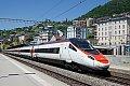 am Foto: RABe 503.016 als EC 39 in Montreux (Simplonstrecke, Schweiz)