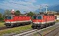 Foto zeigt: 1144.100 + 1144.099, PR Stp. Spittal-Millstättersee (Tauernbahn), 15.09.2021