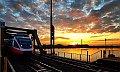 Foto zeigt: 4124.035, Wien Praterkai / Donau-Brücke