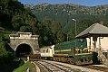 Foto zeigt: SZ 644.004, AVT 859, Podbrdo (Wocheinerbahn (Slowenien)), 20.09.2010